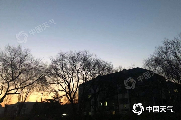 北京今起三天晴朗在线 夜间寒冷最低气温维持冰点以下