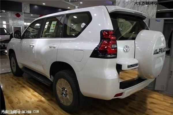 2018款丰田霸道4000 txl外挂天窗版丰田普拉多4000搭载4.