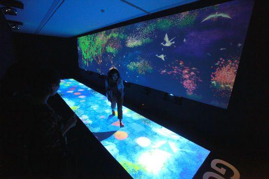 未来游乐园沉浸式新媒体艺术展开幕