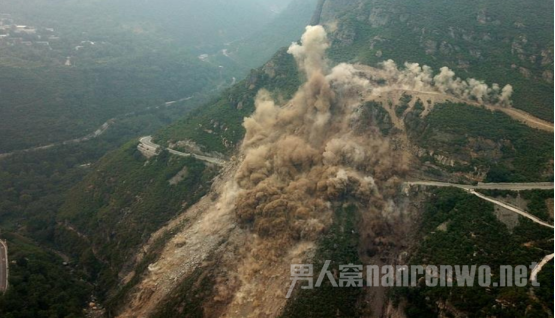 北京房山塌方爆破是什么情况?何时能恢复道路通行?