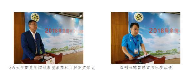 2018年全国大学生国际跳棋锦标赛落幕