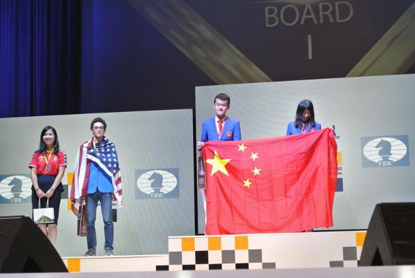 奥赛勇夺两冠三杯 中国国际象棋奇迹百年难遇