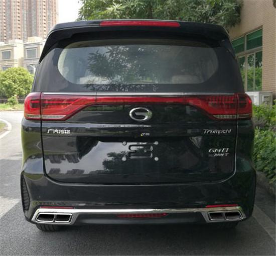 广汽传祺新款GM8申报图 外观细节调整