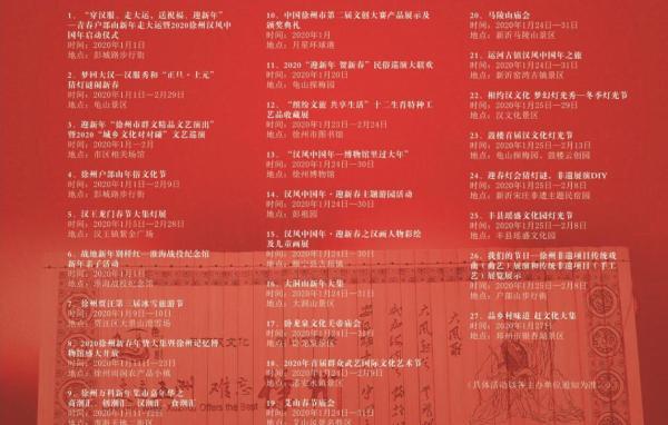 徐州,你好潮 | 一起来徐州过汉风中国年吧