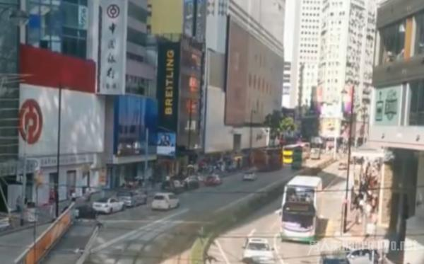 疫情下的香港五一黄金周 街头十分清冷 导游最担心这个