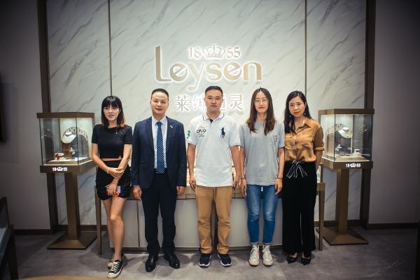 Leysen莱绅通灵携手银泰集团举办数字化营销商业模式发布会