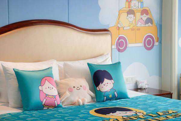 开元酒店集团发布全新亲子IP形象,枕头小精灵元仔正式出道
