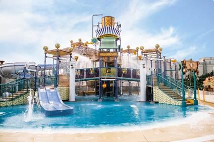 澳门新濠影汇水上乐园正式开业 打造全新澳门亲子游乐地标