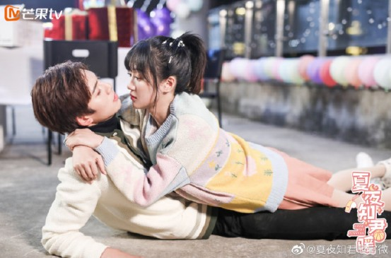 《夏夜知君暖》上线11天收视破3.2亿,邓超元王梓薇甜蜜撒糖