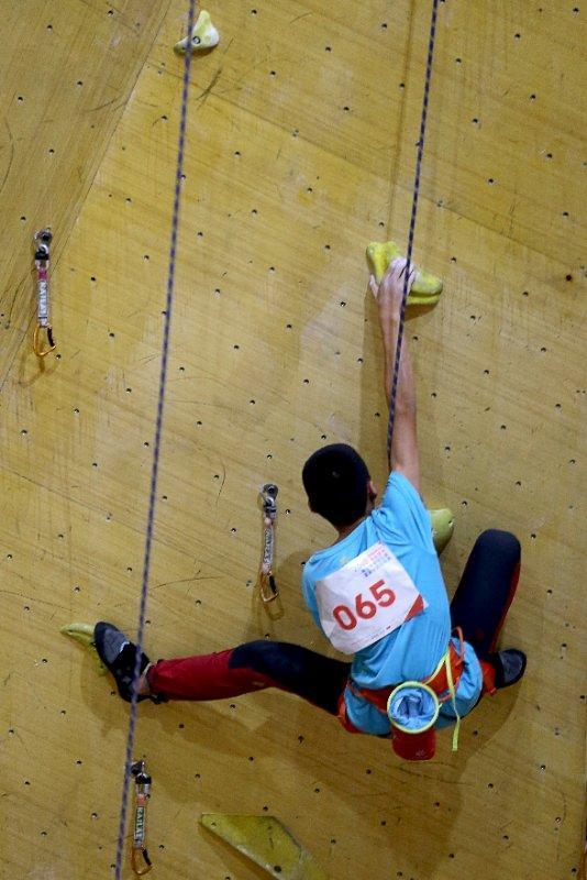 2018年北京市青少年攀岩比赛暨集训营选拔赛开幕