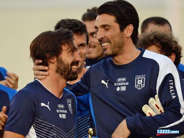 皮尔洛:C罗应该赢得金球奖 布冯德罗西还会进国家队