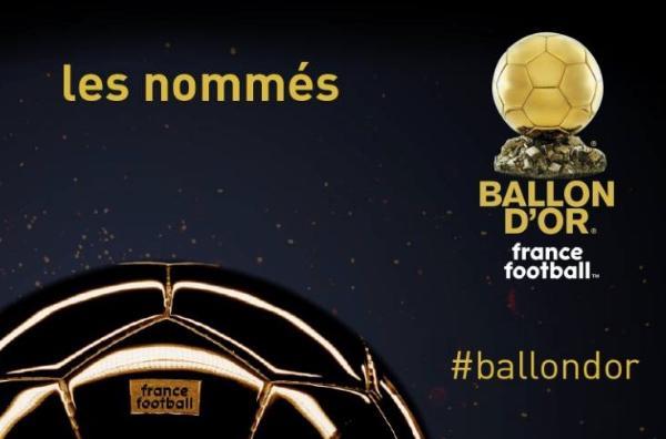 金球奖第五批候选:梅西、魔笛、内马尔、奥布拉克和博格巴