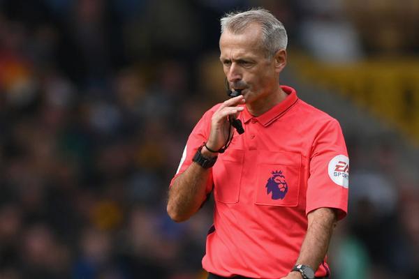 英超第8轮裁判安排:阿特金森执法曼城vs利物浦