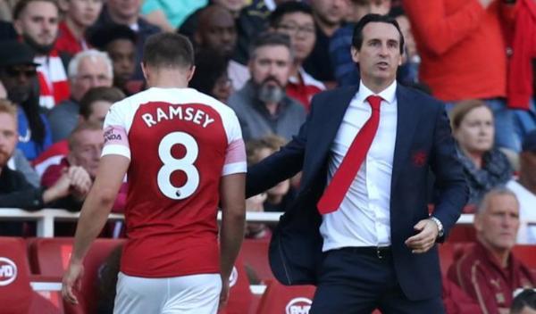 拉姆塞赛季后走人?传埃梅里有意引进杰林斯基接替