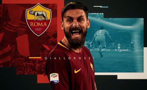 德罗西将在退役后在罗马青训营担任教练
