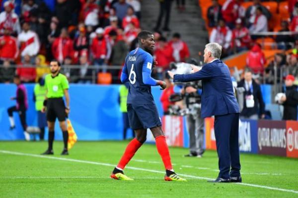 德尚:我一点都不担心博格巴,他回到国家队时会完全不同