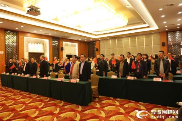 女甲井冈山分站赛开幕式 女棋手集体献唱我和我的祖国
