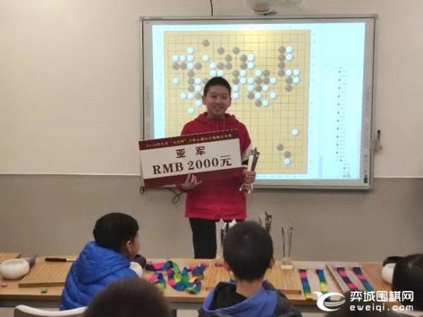 """2019北京""""大名杯""""少儿公开赛鸣金 杜天瑞全胜夺冠"""