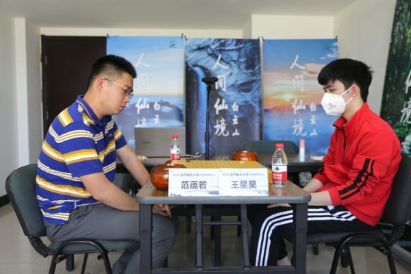 """棋圣战范蕴若不敌""""小老弟"""" 上海04新星挺进八强"""