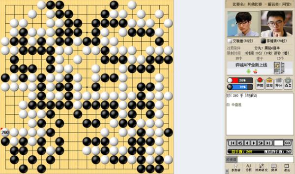 李维清决赛失手 Globis杯文敏钟串烧中国三将夺冠