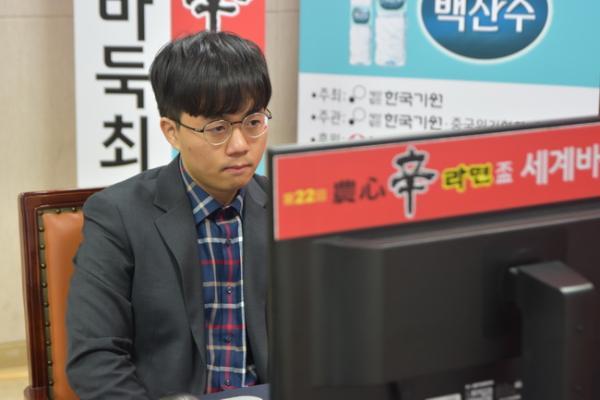 农心杯芝野虎丸力克申旻埈 23日中国队唐韦星攻擂