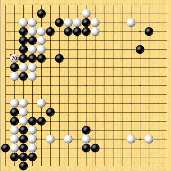 中盘问题手杨鼎新全面被动 天元决赛首局连笑先胜