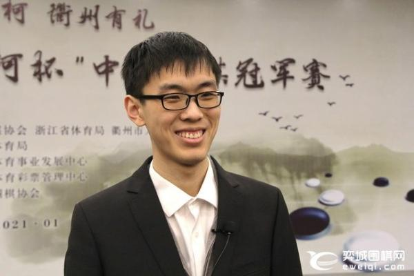 杨鼎新:决赛是好胜负 许嘉阳:亚军拿多了也习惯了