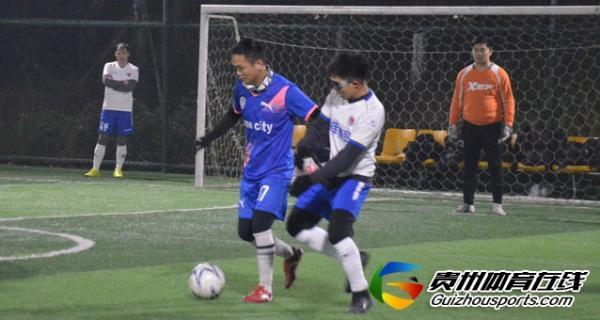 魅力之夜2020赛季7人制足球冬季联赛 壹城3-7腾晖商贸