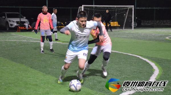 魅力之夜2020赛季7人制足球冬季联赛 云上未来3-5FS