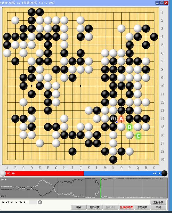 朴廷桓攻敌不成反受损 王星昊犀利一点铸胜局