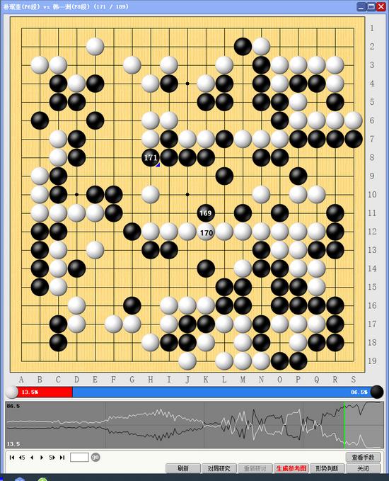 10人赛再战一场 韩一洲两屠大龙中方开局三连胜