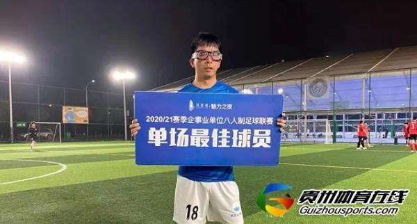 铁建城2020/21赛季企事业单位八人制 黔中荣源0-3恒霸药业二队