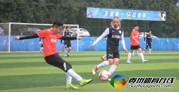 银利·星耀FC(A队)3-3GOPLAY玩去生活 张伟立梅开二度
