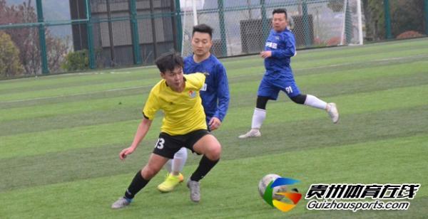 仟亿建设二队3-1银利·星耀FC(B队) 王劼威取得进球