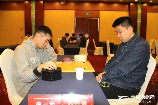 倡棋杯复赛开战 本轮开始采用应氏计点制围棋规则