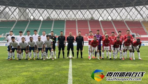 第一届贵州省业余足球冠军杯 红润化工5-1息烽志合