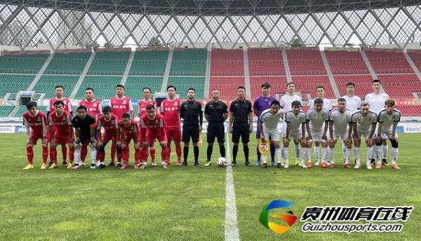 第一届贵州省业余足球冠军杯 黔行足球3-3周林公学
