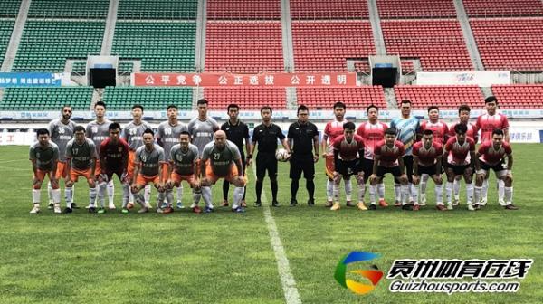 第一届贵州省业余足球冠军杯 水世纪16-2諾克设计