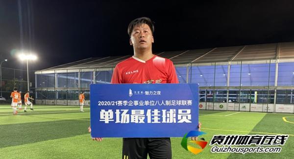 铁建城2020/21赛季企事业单位八人制 黔中荣源1-2老友记