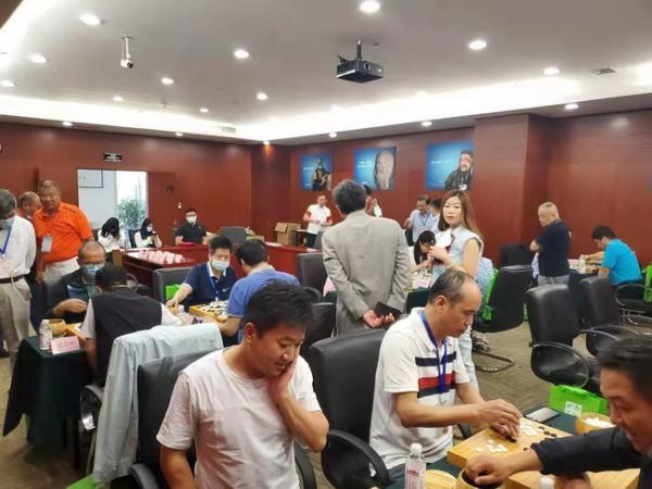 首都新闻单位围棋友谊赛在京举行 张大勇获得冠军