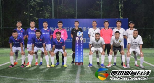魅力之夜2021赛季7人制足球夏季联赛 赤水河4-10腾晖商贸