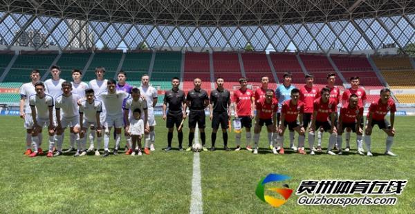 第一届贵州省业余足球冠军杯 开天电子0-3周林公学