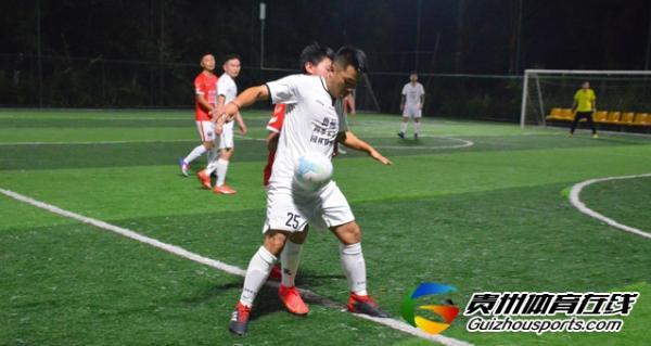 魅力之夜2021赛季7人制足球夏季联赛 日立电梯1-1赤水河