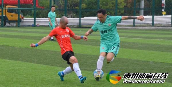 银利·星耀FC(A队)2-3GOPLAY玩去生活 彭显勇取得进球