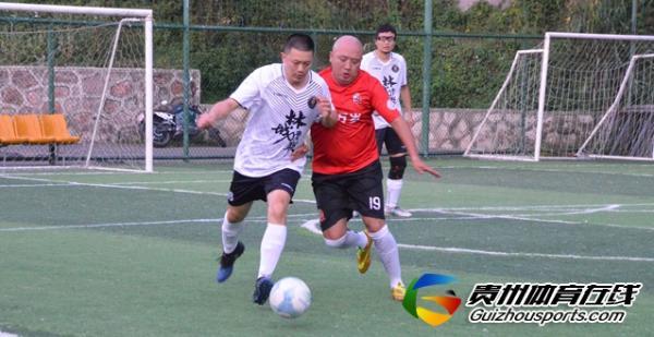 魅力之夜2021赛季7人制足球夏季联赛 林城青联1-7老友万岁