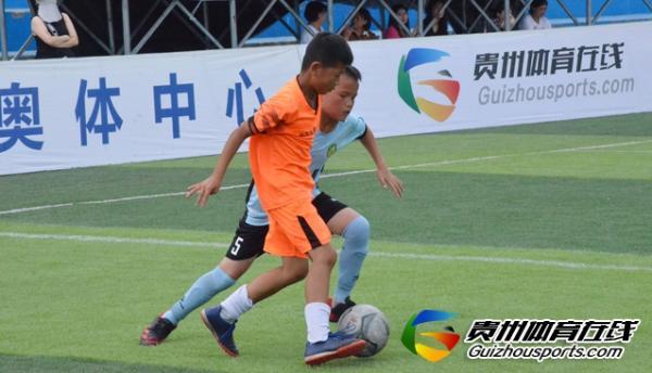 贵阳市青少年足球联赛 黔之星U10 0-5贵阳葫芦风队