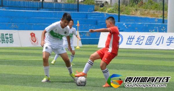 第一届贵阳市青少年足球联赛 红色希望0-8林城之星