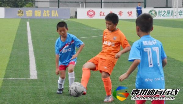 贵阳市青少年足球联赛 赤麟FC5-7贵州追风小将