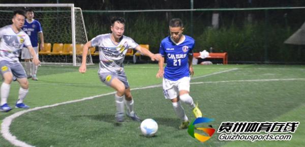 魅力之夜2021赛季7人制足球夏季联赛 恒信德远4-1福电98