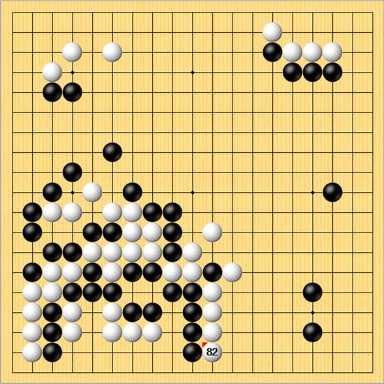 决赛第二局112手屠龙胜时越 柯洁2比0蝉联棋圣头衔